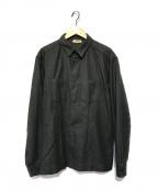 PRADA SPORTS(プラダスポーツ)の古着「ウールシャツ」|グレー