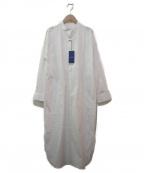 heliopole(エリオポール)の古着「ヨークシャツワンピース」|ホワイト