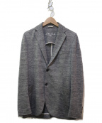 CIRCOLO 1901(チルコロ1901)の古着「リネンテーラードジャケット」 ネイビー