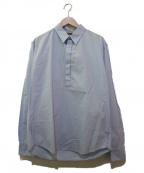 BARENA(バレナ)の古着「プルオーバーシャツ」|スカイブルー
