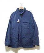 M.I.D.A.(ミダ)の古着「ナイロンM65ジャケット」|ネイビー