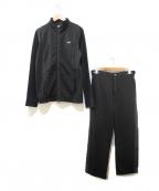 EA7(イーエーセブン)の古着「セットアップジャージ」 ブラック