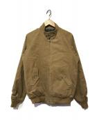 ()の古着「T-9 ハリントン ジャケット」 ベージュ