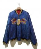 東洋エンタープライズ(トウヨウエンタープライズ)の古着「スカジャン」|ブルー×レッド