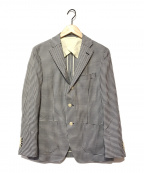 blazers bank.com×REDA(ブレザーバンクドットコム×レダ)の古着「テーラードジャケット」 ネイビー×ホワイト