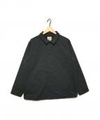 JACKMAN(ジャックマン)の古着「ジャージーコーチジャケット」|ブラック