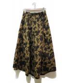 GRAMICCI×Dickies(ディッキーズ×グラミチ)の古着「フレアスカート」|オリーブ