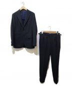 BEAMS F(ビームスエフ)の古着「ウールセットアップスーツ」|ネイビー