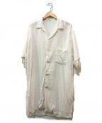 Ys(ワイズ)の古着「リネンシャツ」|ホワイト