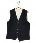 CIRCOLO 1901(チルコロ1901)の古着「ストレッチバックストラップジレ」 ネイビー