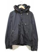 C.P COMPANY(シーピーカンパニー)の古着「ナイロンゴーグルジャケット」|ブラック