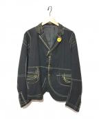 NEMETH(ネメス)の古着「総柄ジャケット」|ブラック