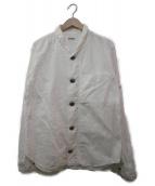 KAPITAL(キャピタル)の古着「OXコンチョボタンシャツ」|ホワイト