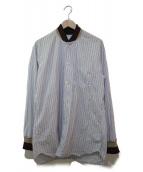 COMME des GARCONS SHIRT(コムデギャルソンシャツ)の古着「リブシャツ」|ホワイト