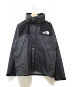 THE NORTH FACE(ザ ノース フェイス)の古着「マウンテンレインテックスジャケット」|グレー×ブラック