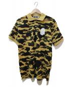 A BATHING APE(エイプ)の古着「1stカモポロシャツ」|ベージュ