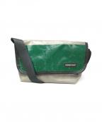 FREITAG(フライターグ)の古着「リメイクショルダーバッグ」|グレー×グリーン