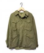 US ARMY(ユーエスアーミー)の古着「ヴィンテージM-1943ジャケット」|オリーブ