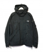 HELLY HANSEN(ヘリー ハンセン)の古着「フラタニティジャケット」|ブラック