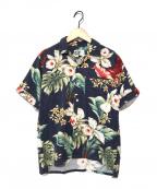 Engineered Garments(エンジニアドガーメンツ)の古着「アロハシャツ」|ネイビー