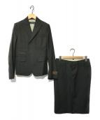 DSQUARED2(ディースクエアード)の古着「セットアップスーツスカート」|ネイビー