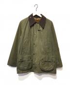 Barbour()の古着「ライナー付オイルドジャケット」|オリーブ