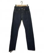 LEVIS VINTAGE CLOTHING(リーバイスヴィンテージクロージング)の古着「ストレートデニムパンツ」|インディゴ