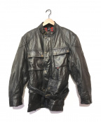 BELSTAFF()の古着「モーターサイクルレザージャケット」|ブラック