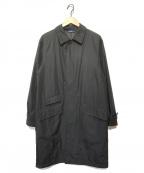 POLO RALPH LAUREN()の古着「ナイロンステンカラーコート」|ブラック