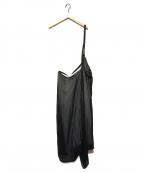 Ys(ワイズ)の古着「ワンショルダーオールインワン」|ブラック