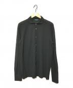 Zanone(ザノーネ)の古着「ストレッチシャツ」 ブラック