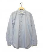 H BEAUTY&YOUTH(エイチ ビューティアンドユース)の古着「ロングスリーブシャツ」|ブルー