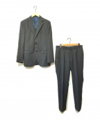 BEAMS F(ビームスエフ)の古着「ストライプセットアップスーツ」|ネイビー