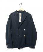 Traditional Weatherwear(トラディショナルウェザーウェア)の古着「ダブルジャケット」|ネイビー