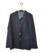 BOSS HUGO BOSS(ボス ヒューゴボス)の古着「テーラードジャケット」|ネイビー