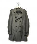 BURBERRY BLACK LABEL(バーバリーブラックレーベル)の古着「ライナー付ステンカラーコート」 グレー