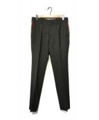 ()の古着「切替パンツ」|ブラック
