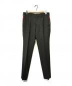 COMME des GARCONS HOMME(コムデギャルソン オム)の古着「切替パンツ」 ブラック