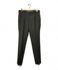 COMME des GARCONS HOMME (コムデギャルソン オム) 切替パンツ ブラック サイズ:M HR-P083 AD2006