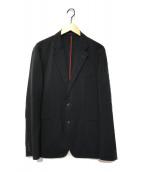 ()の古着「ステッチデザインジャケット」|ブラック
