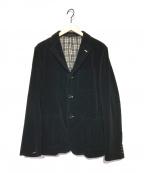 COMME des GARCONS HOMME(コムデギャルソン オム)の古着「コーデュロイジャケット」 ブラック