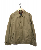()の古着「裏フラワージャケット」|ベージュ
