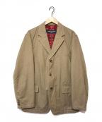 COMME des GARCONS HOMME(コムデギャルソン オム)の古着「裏フラワージャケット」 ベージュ