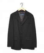 COMME des GARCONS HOMME(コムデギャルソン オム)の古着「ウールテーラードジャケット」 ブラック