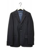 ()の古着「ウールテーラードジャケット」|ネイビー