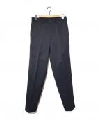 COMME des GARCONS SHIRT(コムデギャルソンシャツ)の古着「90'Sラインパンツ」|ブラック×ブルー