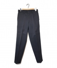 COMME des GARCONS SHIRT (コムデギャルソンシャツ) 90'Sラインパンツ ブラック×ブルー サイズ:S 90年代