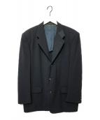 ()の古着「切替テーラードジャケット」|ブラック