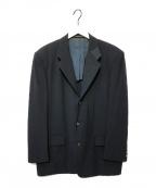 COMME des GARCONS HOMME(コムデギャルソン オム)の古着「切替テーラードジャケット」 ブラック