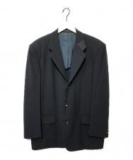 COMME des GARCONS HOMME (コムデギャルソン オム) 切替テーラードジャケット ブラック サイズ:S 90年代 AD1991 HJ-11043S
